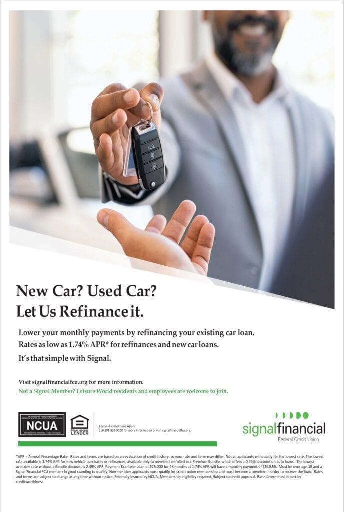 auto refinance leisure world ad