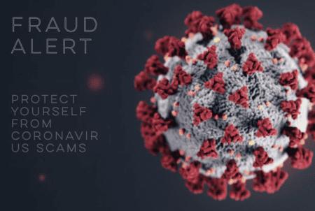 fraud alert coronavirus scams