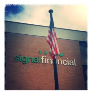 exterior shot of signal's headquarters