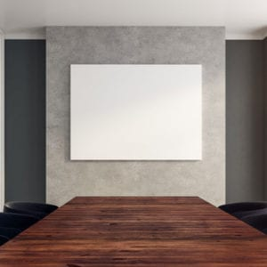 Photo of a board room